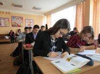 Урок української літератури  в 9А класі